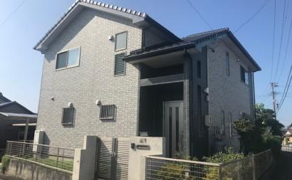 愛知県西三河東三河西尾市付帯部塗装工事シーリング工事汚れシーリング割れ色褪せ施工前