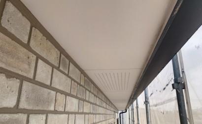 愛知県西三河東三河西尾市付帯部塗装工事シーリング工事汚れシーリング割れ色褪せ軒天現状