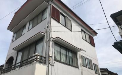 愛知県西三河東三河西尾市外壁塗装アステック超低汚染遮熱シリコン塗装カラーボンドベイジュ屋根塗装アドグリーンコートEXブラウン施工前