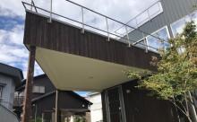 愛知県西三河東三河西尾市碧南市外壁塗装ガルバリウム鋼板ウッドデッキ解体屋上防水工事雨漏りメンテナンス施工例テラスベランダ木板