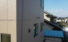 愛知県西三河東三河西尾市外壁塗装アステックリファインSi超低汚染シリコン塗装カラーボンドベイジュ外壁施工写真完成