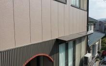愛知県西三河東三河西尾市外壁塗装アステック超低汚染遮熱シリコン塗装カラーボンドベイジュ屋根塗装アドグリーンコートEXブラウン外壁