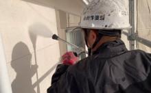 愛知県西三河東三河西尾市外壁塗装工事ベランダ防水工事アステック超低汚染遮熱シリコン塗装カラーボンドスレートグレーアクセント壁チャコールメンテナンス外壁施工手順高圧洗浄