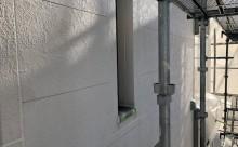 愛知県西三河東三河西尾市外壁塗装工事ベランダ防水工事アステック超低汚染遮熱シリコン塗装カラーボンドスレートグレーアクセント壁チャコールメンテナンス外壁施工手順現状