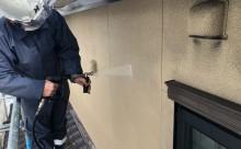 愛知県西三河東三河西尾市外壁塗装工事網戸張替え工事アステック超低汚染無機フッ素塗装カラーボンドベイジュ汚れ傷み色褪せメンテナンス外壁施工手順高圧洗浄