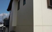 愛知県西三河東三河西尾市木造外壁塗装アステック超低汚染無機フッ素塗装オレンジホワイト傷み色褪せひび割れ汚れメンテナンス外壁塗装施工手順完成