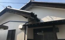 愛知県西三河東三河西尾市木造外壁塗装アステック超低汚染無機フッ素塗装オレンジホワイト傷み色褪せひび割れ汚れメンテナンス施工後母屋