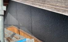 愛知県西三河東三河西尾市外壁塗装工事木部擁壁塗装工事低汚染高耐久シリコン塗装木部黒ずみ汚れ経年劣化メンテナンス外壁塗装施工手順現状