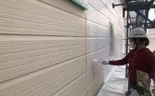 岡崎市外壁アステック塗装下塗り