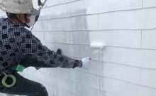 岡崎市屋根塗装プライマー2回目