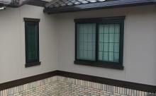 愛知県西三河東三河西尾市外壁塗装工事網戸張替え工事アステック超低汚染無機フッ素塗装カラーボンドベイジュ汚れ傷み色褪せメンテナンス外壁施工手順完成