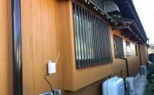 愛知県西三河東三河西尾市外壁塗装工事木部擁壁塗装工事低汚染高耐久シリコン塗装木部着色防腐剤水性造膜系塗装付帯部4Fフッ素黒ずみ汚れ経年劣化メンテナンス施工後外壁