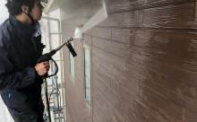 西尾市外壁汚れ高圧洗浄