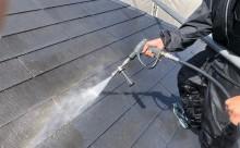 西尾市屋根洗浄色褪せ経年劣化