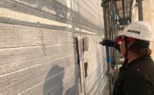 東三河外壁遮熱塗装色褪せ