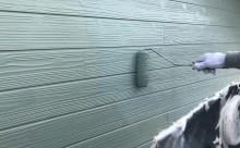 西尾市外壁塗装ミストグリーン