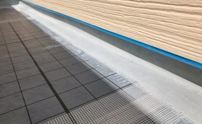 岡崎市ベランダ防水補強クロス