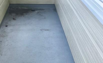 岡崎市ベランダ床ウレタン防水通気緩衝工法現状