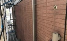 西尾市外壁遮熱塗装色剥げ