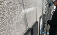 安城市外壁汚れ高圧洗浄