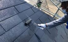 西尾市屋根遮熱シリコン塗装