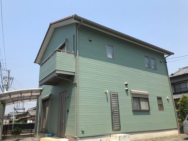 東三河ミストグリーン遮熱塗装