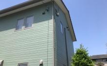 西尾市外壁アステック塗装ミストグリーン