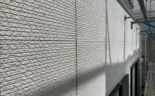 安城市外壁塗装チョーキング汚れ