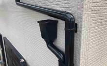 安城市外壁塗装アステック超低汚染シリコン仕上げ、付帯部フッソ塗装