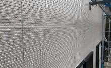 安城市外壁アステック遮熱塗装グレー