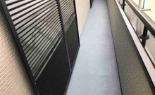 安城市外壁塗装アステック超低汚染シリコン仕上げ、FRP保護剤