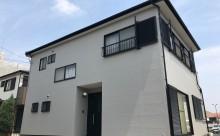 西尾市外壁塗装カラーボンドバーチグレー