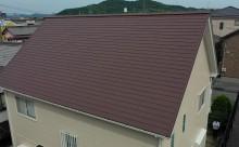岡崎市【外壁】超低汚染遮熱シリコン塗装【屋根】高反射遮熱塗装
