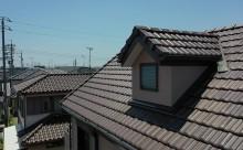 愛知県西尾市アステック超低汚染塗装、カラーボンドベイジュ