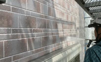 西尾市、遮熱シリコン塗装、外壁汚れ