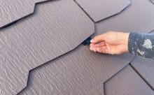 西尾市、屋根遮熱塗装、タスペーサー