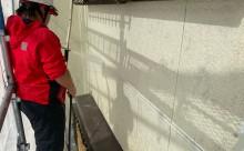 西尾市フッソ塗装、擁壁塗装、漆喰工