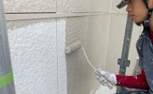 西尾市フッソ塗装、擁壁塗装、漆喰工事