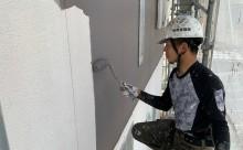 西尾市、遮熱シリコン塗装、サイディング