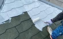 西尾市、屋根塗装、カラーベスト
