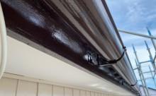 西三河西尾市、外壁、付帯部フッソ塗装