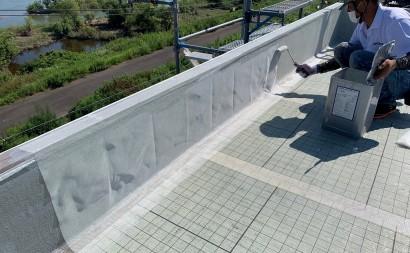 西尾市、通気緩衝工法、ウレタン防水