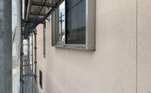 西尾市、遮熱シリコン塗装、外壁割れ