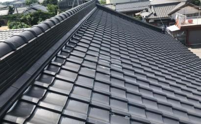 西三河、瓦屋根軽量化工事