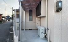 西三河、外壁フッソ塗装、外構工事