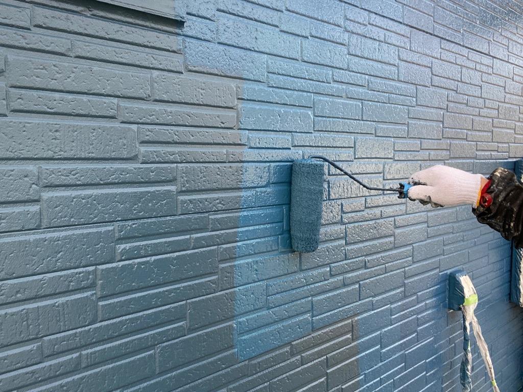 外壁塗装、西三河、ツートンカラー