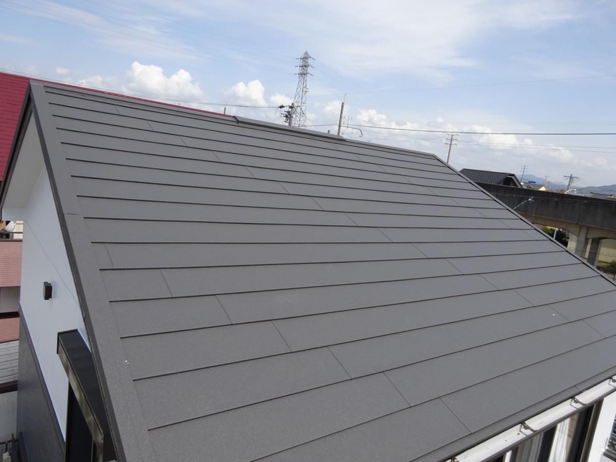 西尾市外壁塗装、超低汚染リファインシリーズ、屋根カバー工法