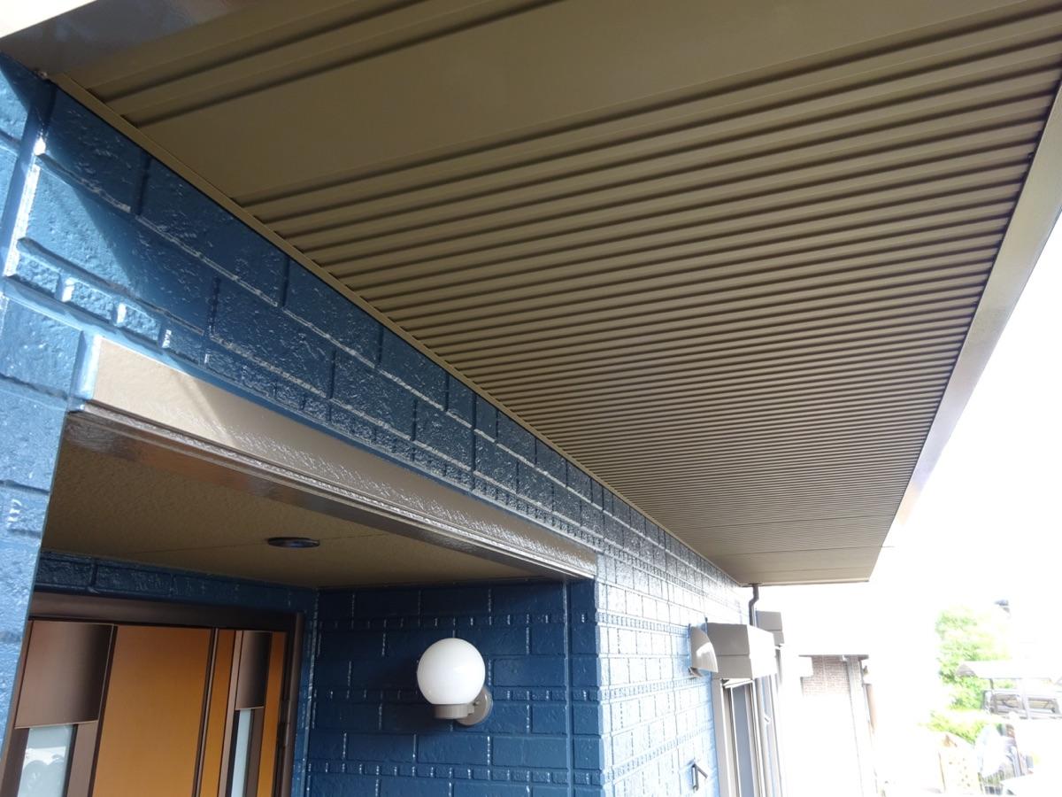 西三河 外壁塗装2色仕上