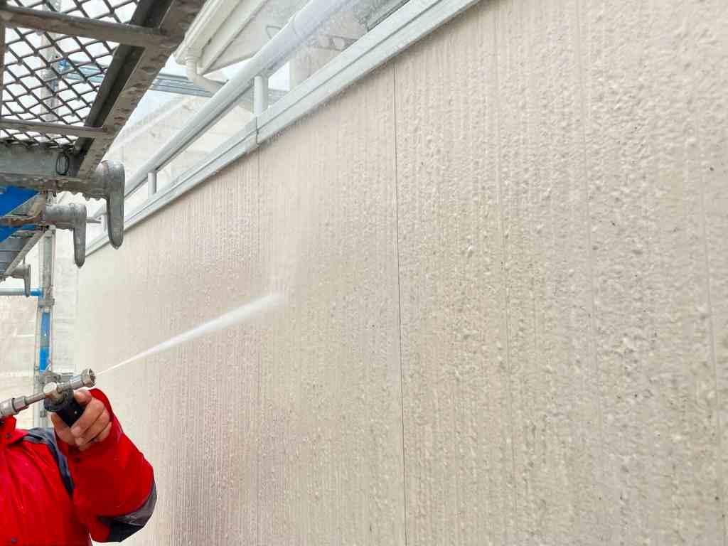 西三河 塗替え高圧洗浄