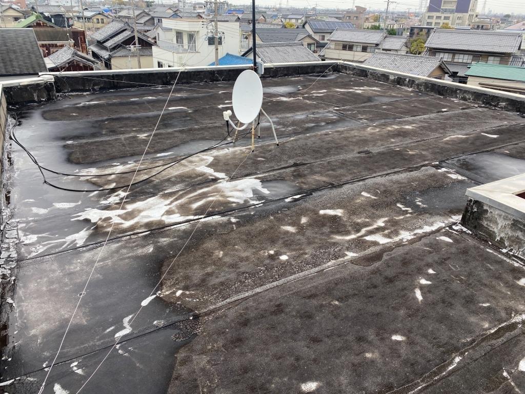 屋上防水現状